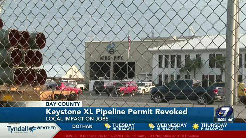 President Joe Biden revoked the permit for the Keystone XL Pipeline on his first day in office...
