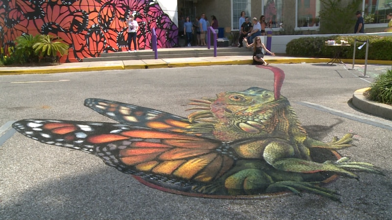 On Saturday, Bay Arts Alliance hosted its first Florida Luxe Arts Festival in Downtown Panama...