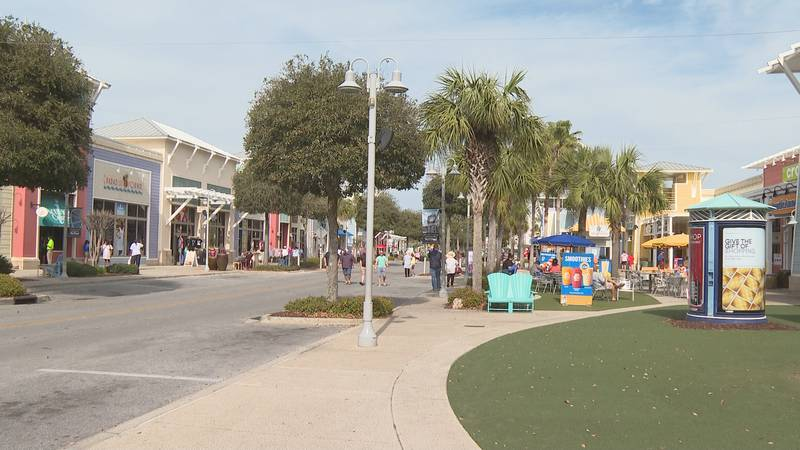 Now this year,  with more people getting out and about as Labor Day comes to a close, Pier Park...
