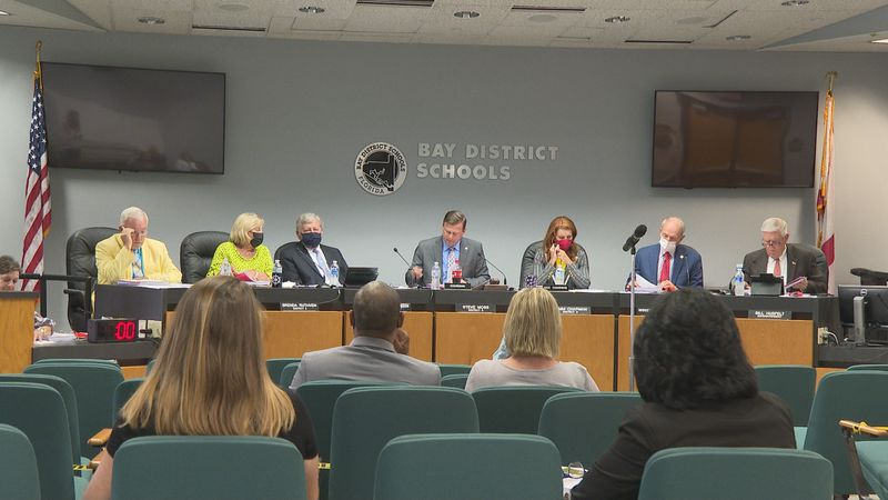Bay District School board members were faced with two big questions Tuesday