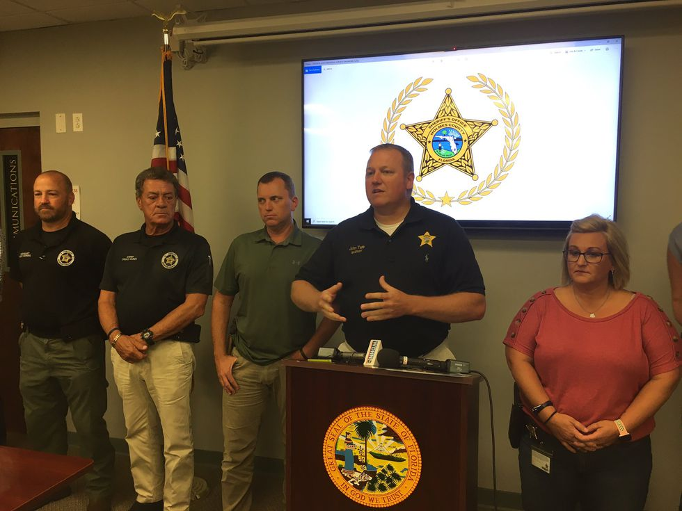 Holmes County Sheriff John Tate held a press conference Wednesday afternoon to release details...