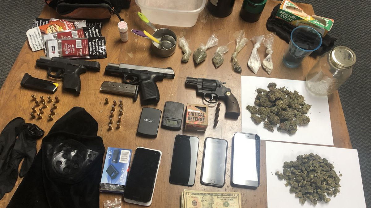 Three men were arrested Friday after Marianna Police say they allegedly found them operating a drug house on Borden Street in Marianna. (MPD)