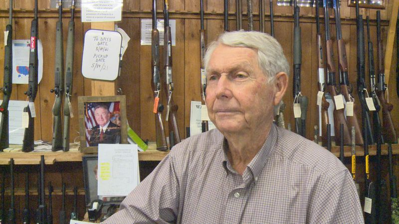 Groom has owned C&G Sporting Goods for decades.
