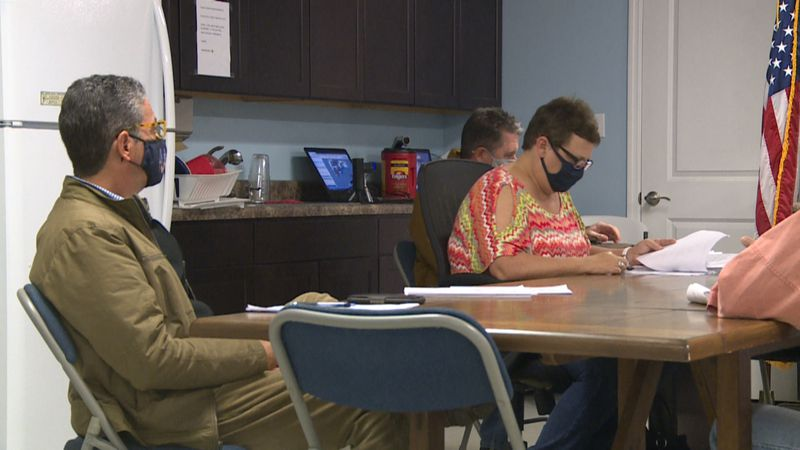 The Mexico Beach Planning and Zoning Board met Monday to discuss changes to properties...