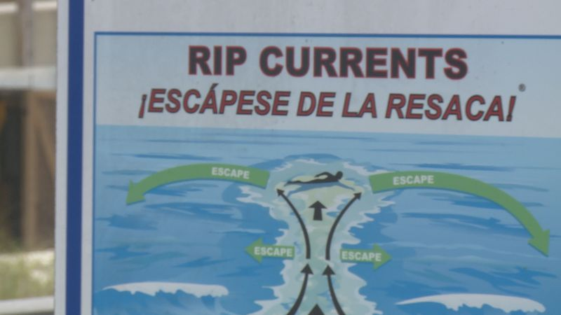 The organization is meant to raise awareness of rip currents.
