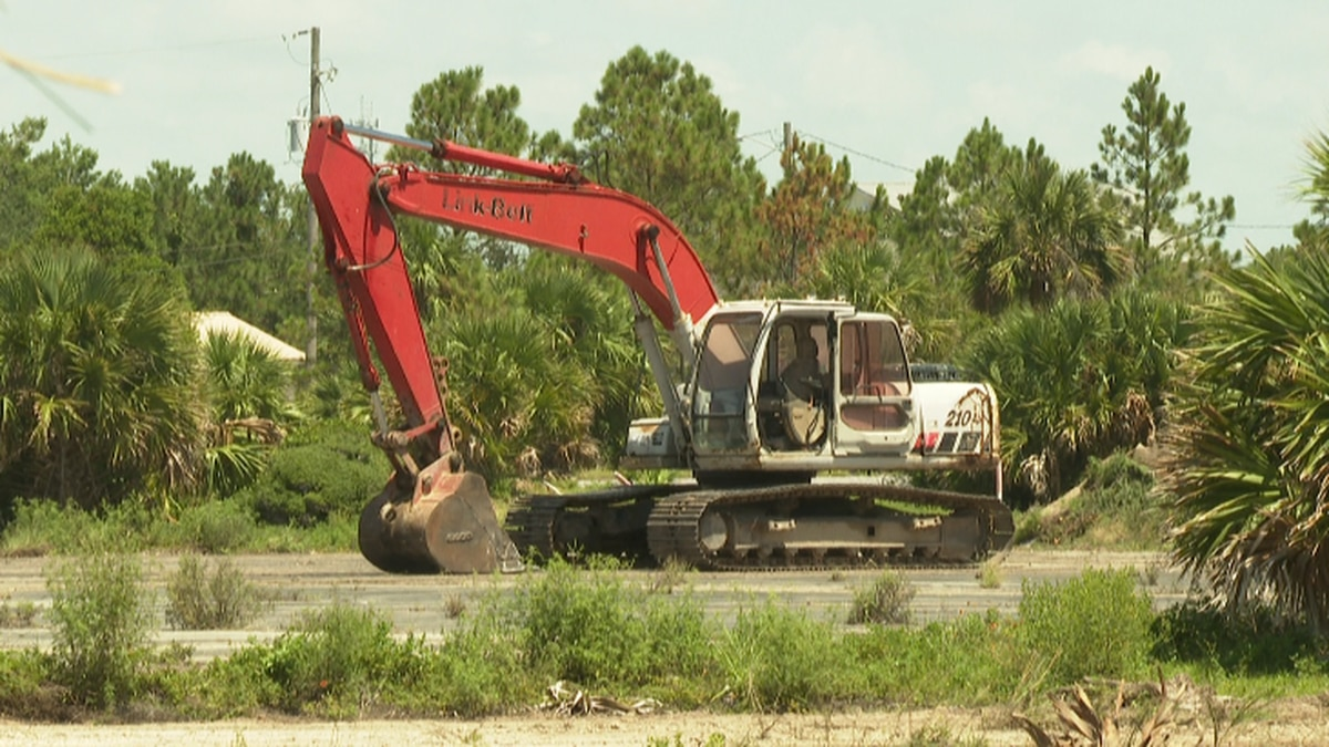 The resort will be located off Front Beach Road, next to Crane Street. (WJHG/WECP)