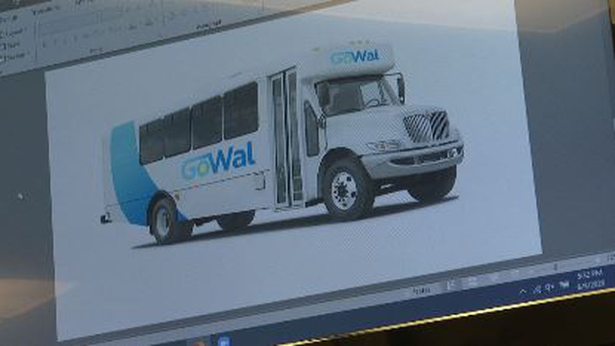 At Tuesdays County Commission meeting, the designs for GoWal were presented. (WJHG/WECP)
