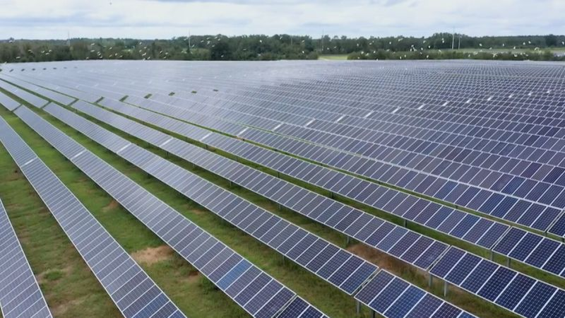 Florida Power and Light was seeking approval for two solar farms they say will help the...