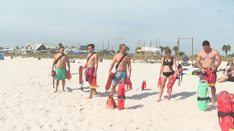 The Panama City Beach Safety team is making a big splash in the water and a big difference on...
