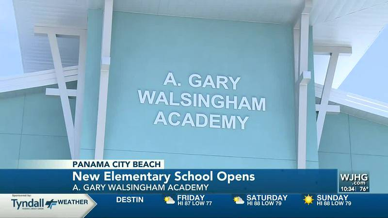 A Walsingham Elementary had its ribbon cutting ceremony.