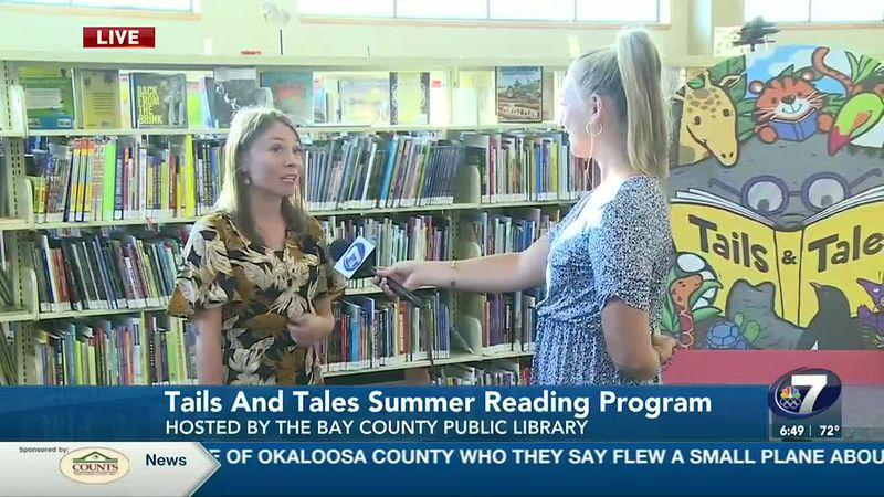 """The Northwest Regional Library System's summer program """"Tails and Tales"""" kicks off Thursday,..."""