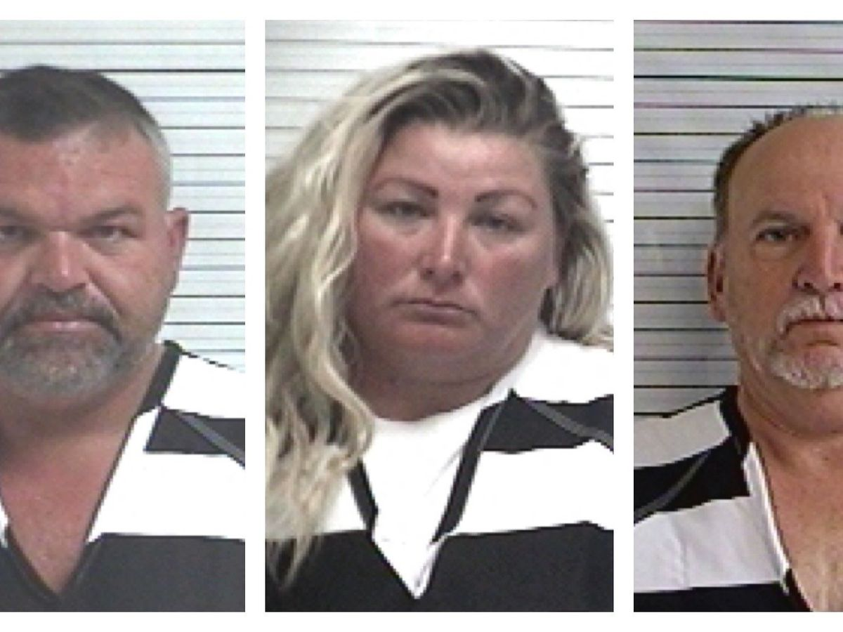 Three Locals Arrested By Federal Officials Tuesday Morning