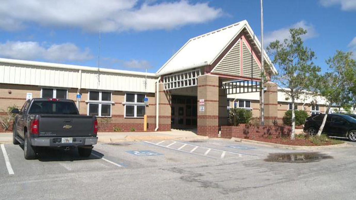 Deane Bozeman School will open as a shelter Friday night. (WJHG/WECP)