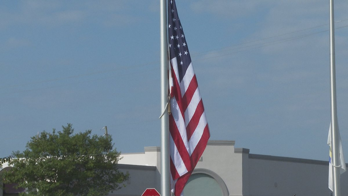 American Flag Raising to remember lives lost on 9/11 attack