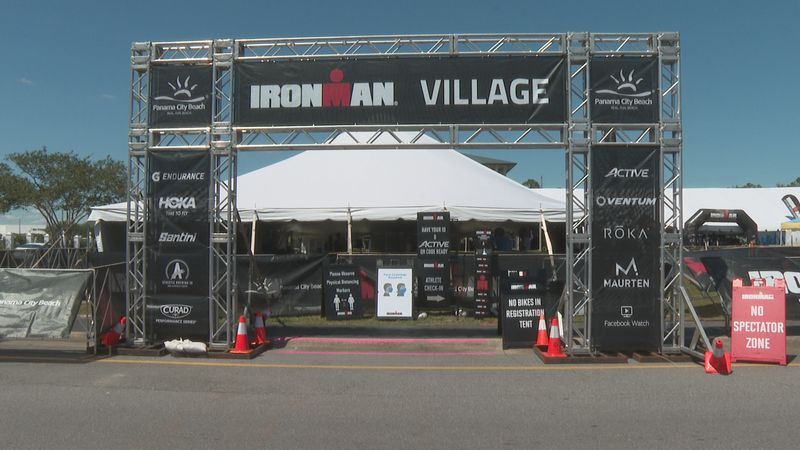 Visit Panama City Beach's Lacee Rudd said the Ironman race is an event they're always excited...