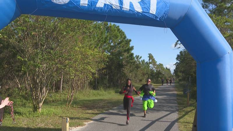 The Gulf Coast School for Autism held their second annual Halloween Howl Costume 5K and One...
