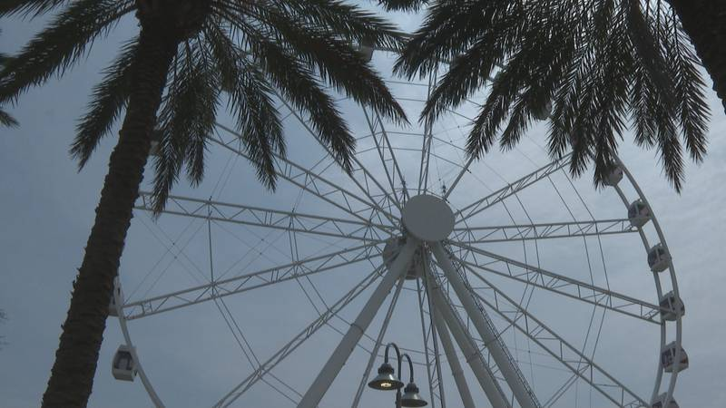 Not all heroes wear capes. Saturday, SkyWheel Attractions honored the local heroes who do so...