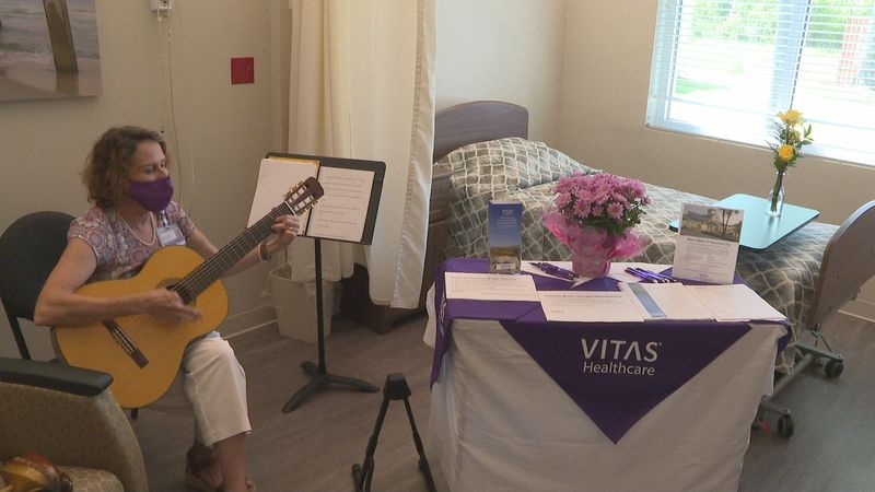 A ribbon-cutting ceremony was held on Thursday to welcome the VITAS Suites at Community Health...