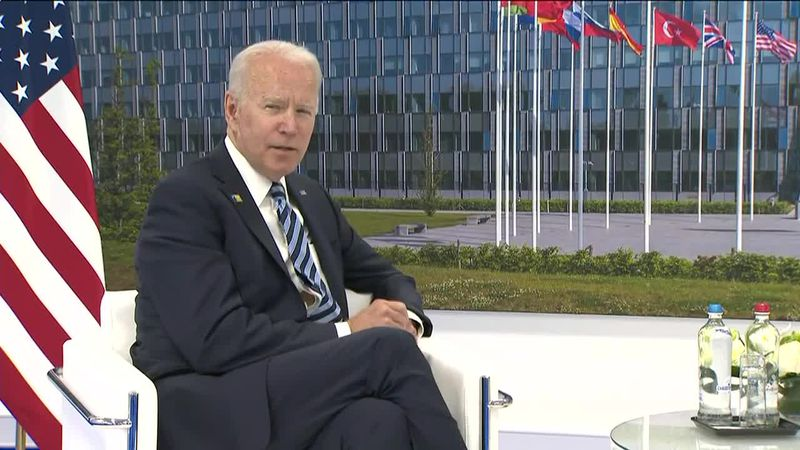 President Joe Biden reaffirms U.S. commitment to NATO during his first summit as president.