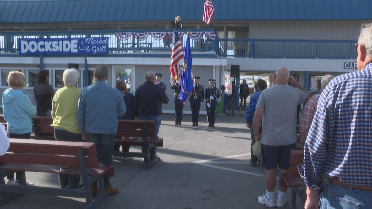 Capt. Anderson's holds Freedom Celebrations for Veterans Day. (WJHG/WECP)