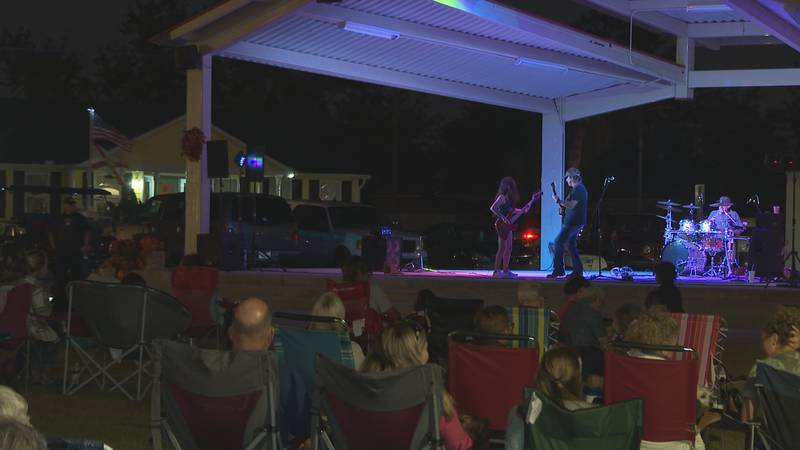 Residents of Lynn Haven turned out by the dozens to attend the annual Fall Concert Series.