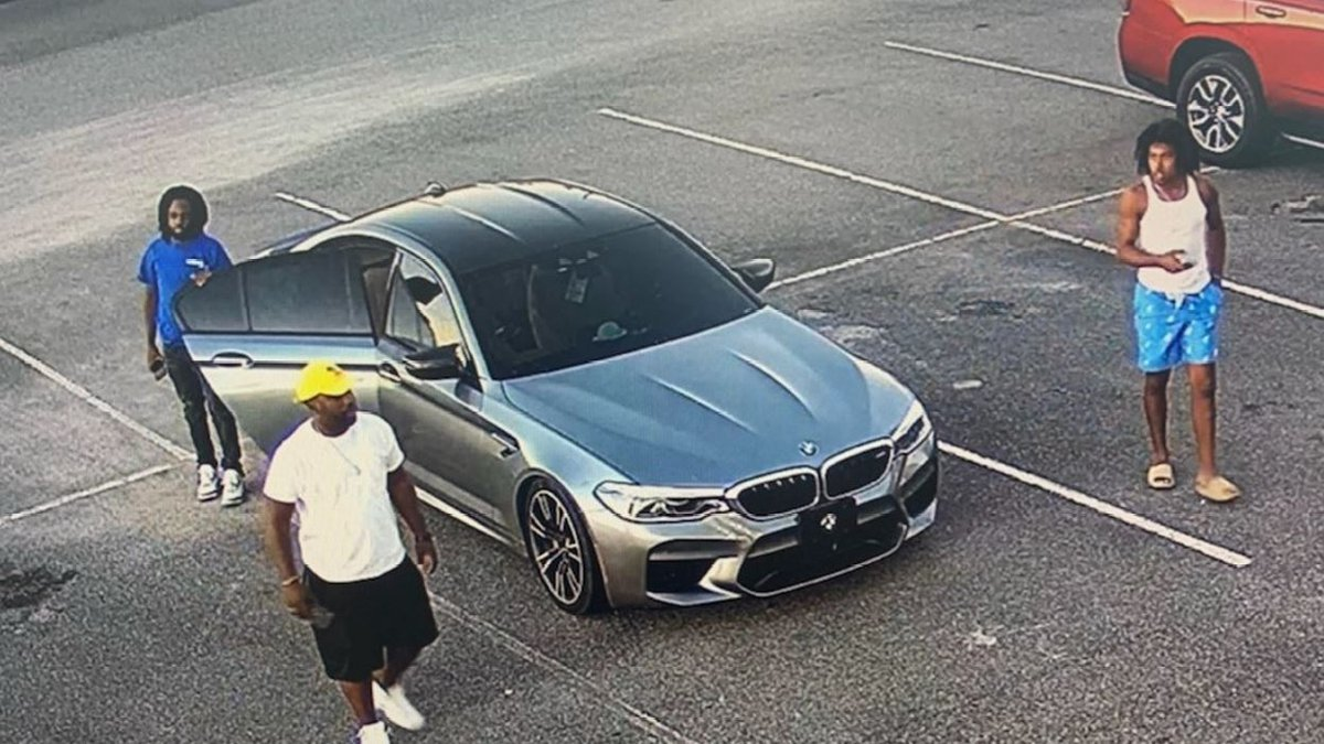 Panama City Police are looking for these suspects in connection with multiple car thefts.