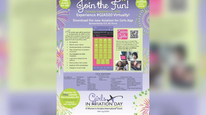 Girls in Aviation Day kicks off Saturday.
