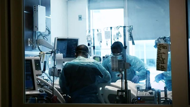 More than 88,000 people are hospitalized with COVID-19 across America. That's a new record set...