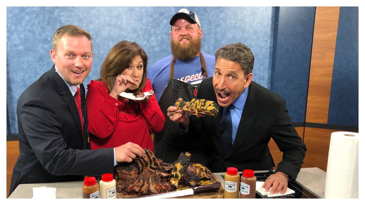 Looking to treat Dad for Father's Day? Back Beach Barbecue has some ideas. (WJHG)