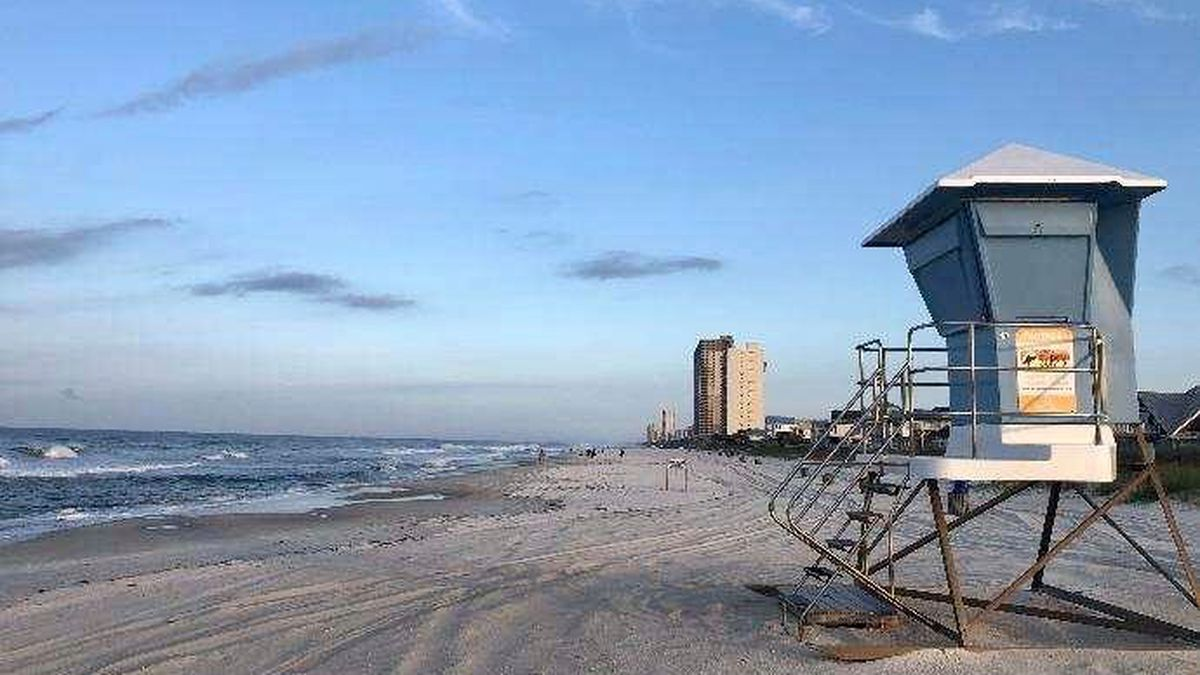 Those who do go to the beach must still adhere to the governor's restrictions, such as no more than ten people in a group. (WJHG/WECP)