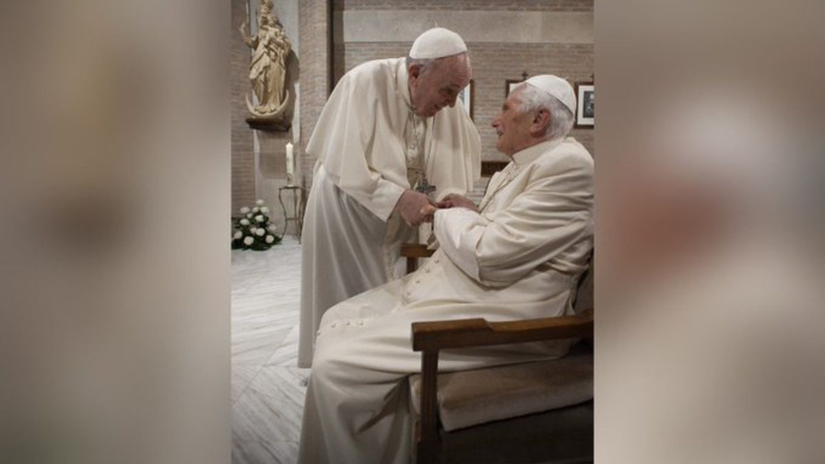 Pope Francis and Pope Emeritus Benedict XVI receive their first doses of the COVID-19 vaccine...