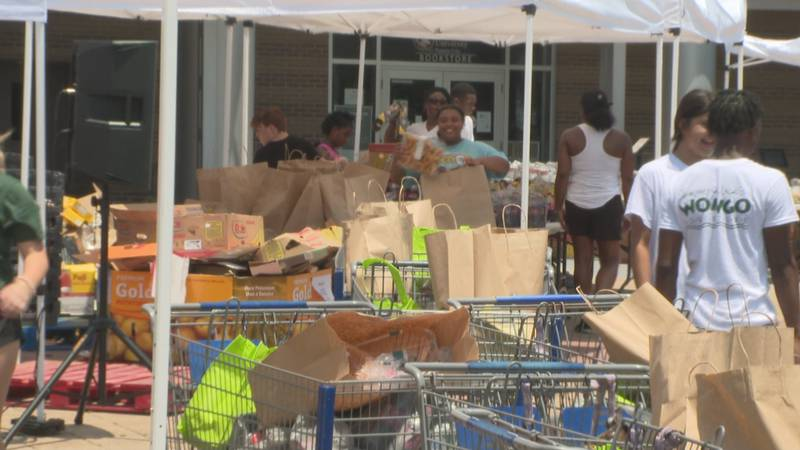 FSU PC's Black Student Union partnered with Rebuild Bay County to distribute  over 10-thousand...