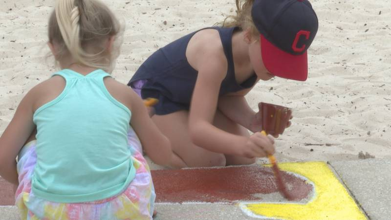 Saturday, Panama City kicked off its Community Mural Project with a sidewalk painting event in...