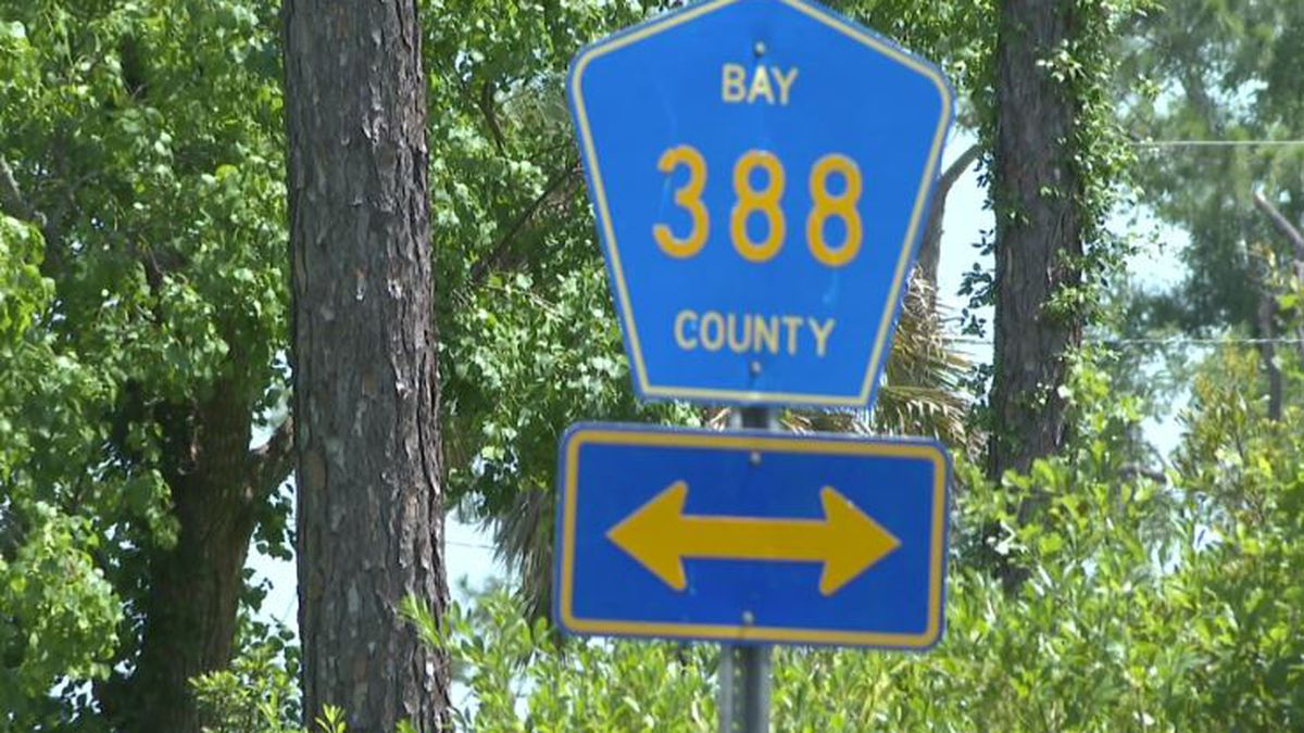 Bay County commisisoners approved a contract to resurface CR 388 East of CR 2301. (WJHG/WECP)