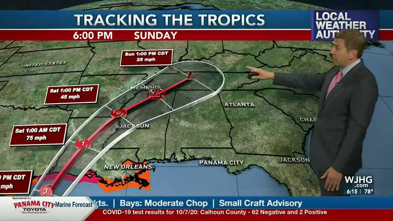 Better rain chances move into the panhandle this weekend