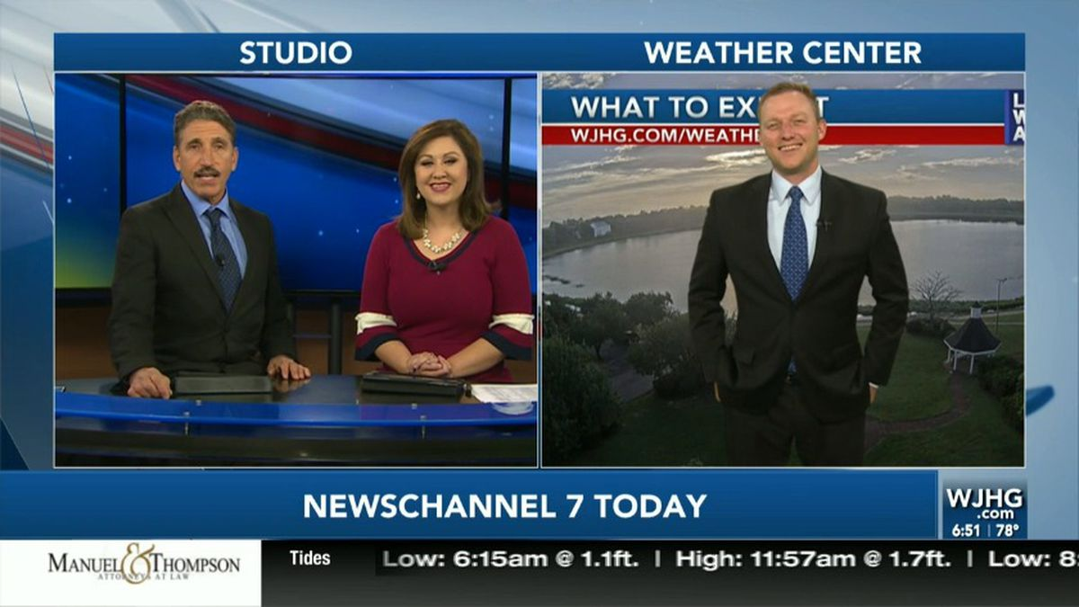 Paris Janos, Jessica Foster, and Meteorologist Ryan Michaels have a quick chat about the weather for today and the upcoming weekend.