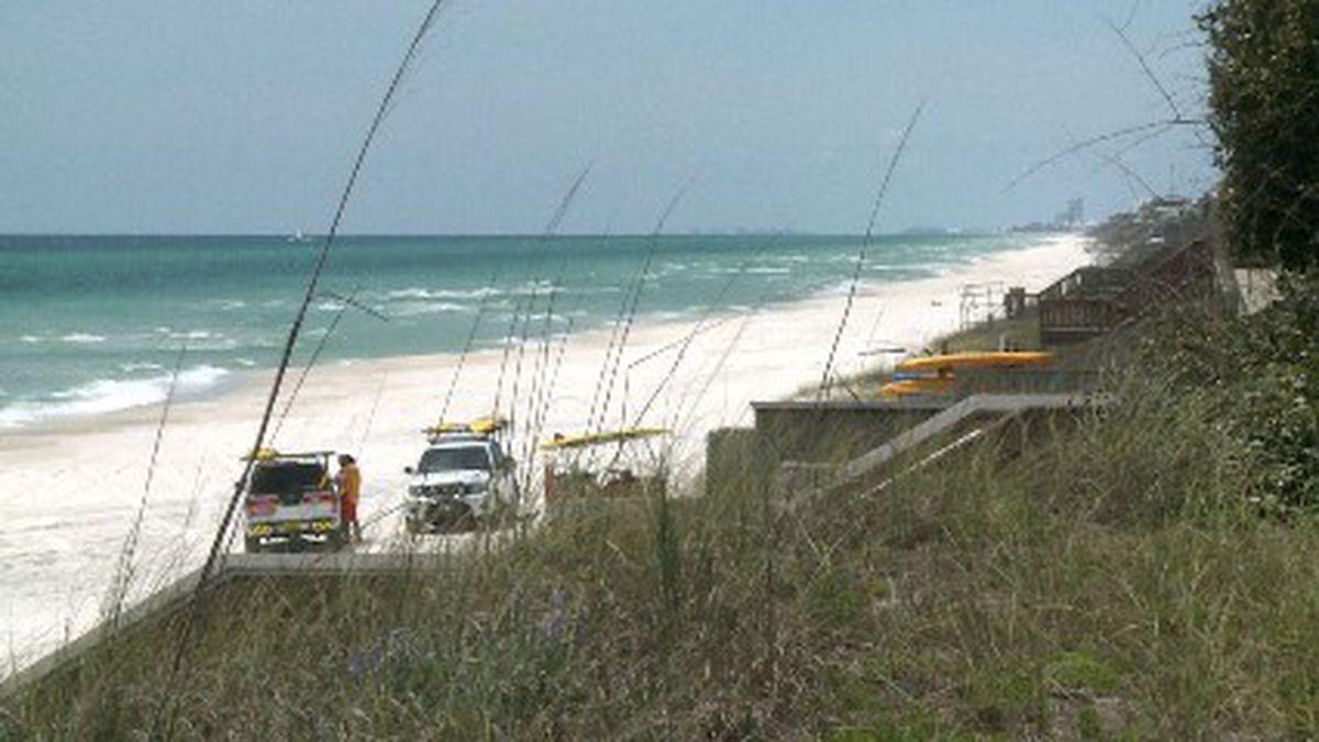 Sunbathing will not be allowed on the beach. (WJHG/WECP)