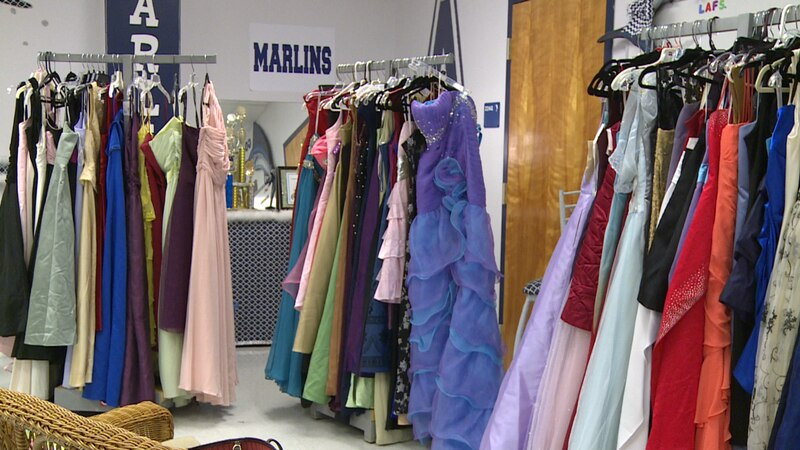 Chautauqua Charter School put together a prom pop-up shop for the students at Arnold High...