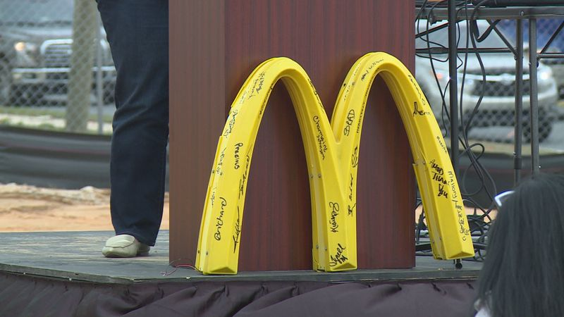 """The new location has been dubbed the """"Gateway McDonald's"""""""
