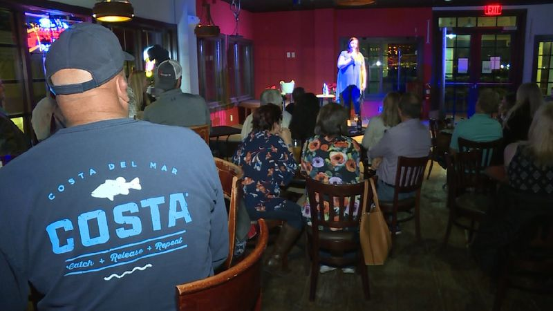 Local comedian Janet Fortune recently performed for Panama City Comedy at House of Bourbon in...