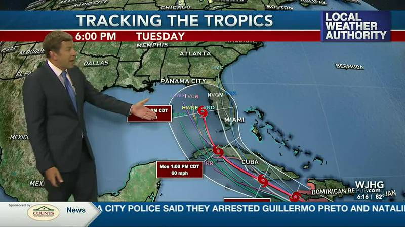 Rain is in the forecast this weekend & we could see a threat in the tropics next week.