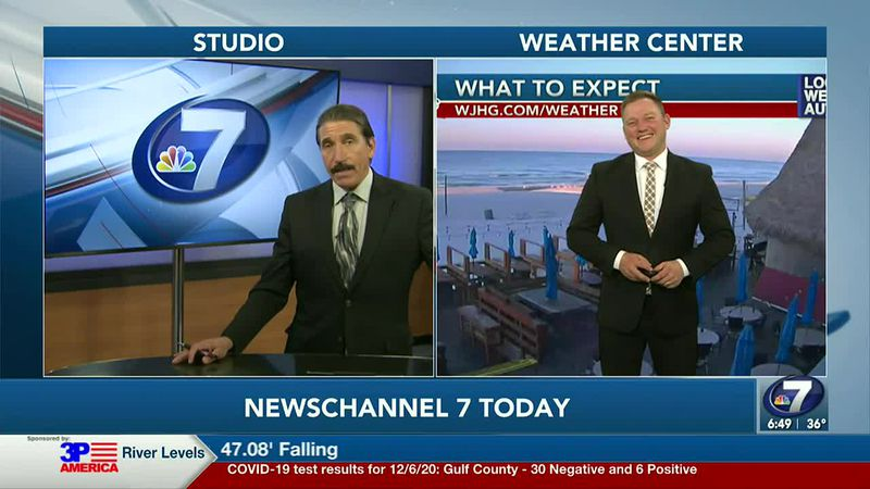 Paris and Ryan chat about today's forecast.