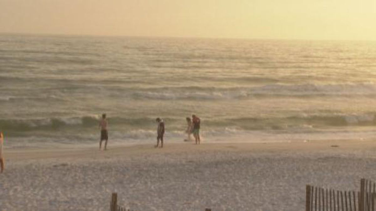 Walton County commissioners closed all beaches, public and private, on April 2nd. (WJHG/WECP)