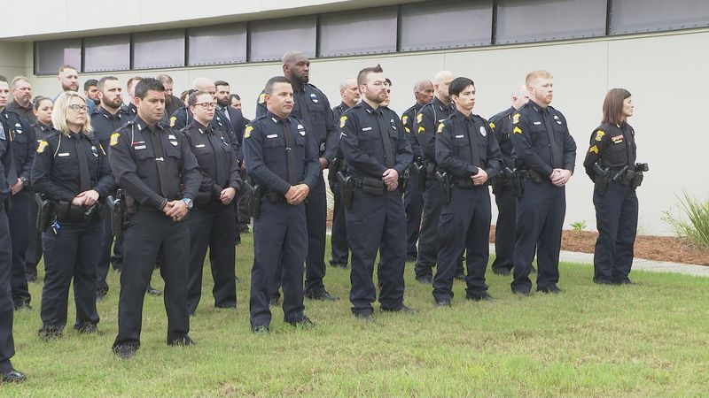 Panama City Police officers remember those who gave the ultimate sacrifice.