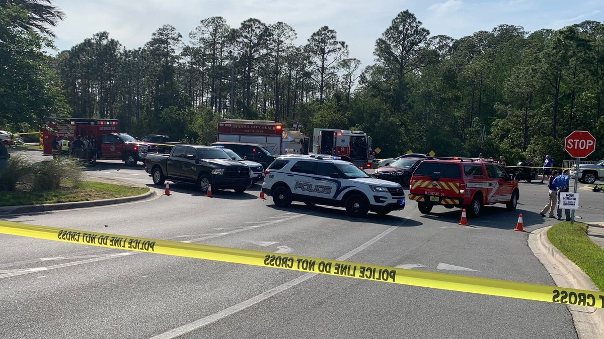 Two motorcyclists were injured Thursday afternoon in a crash near Dick's Sporting Goods at Pier...