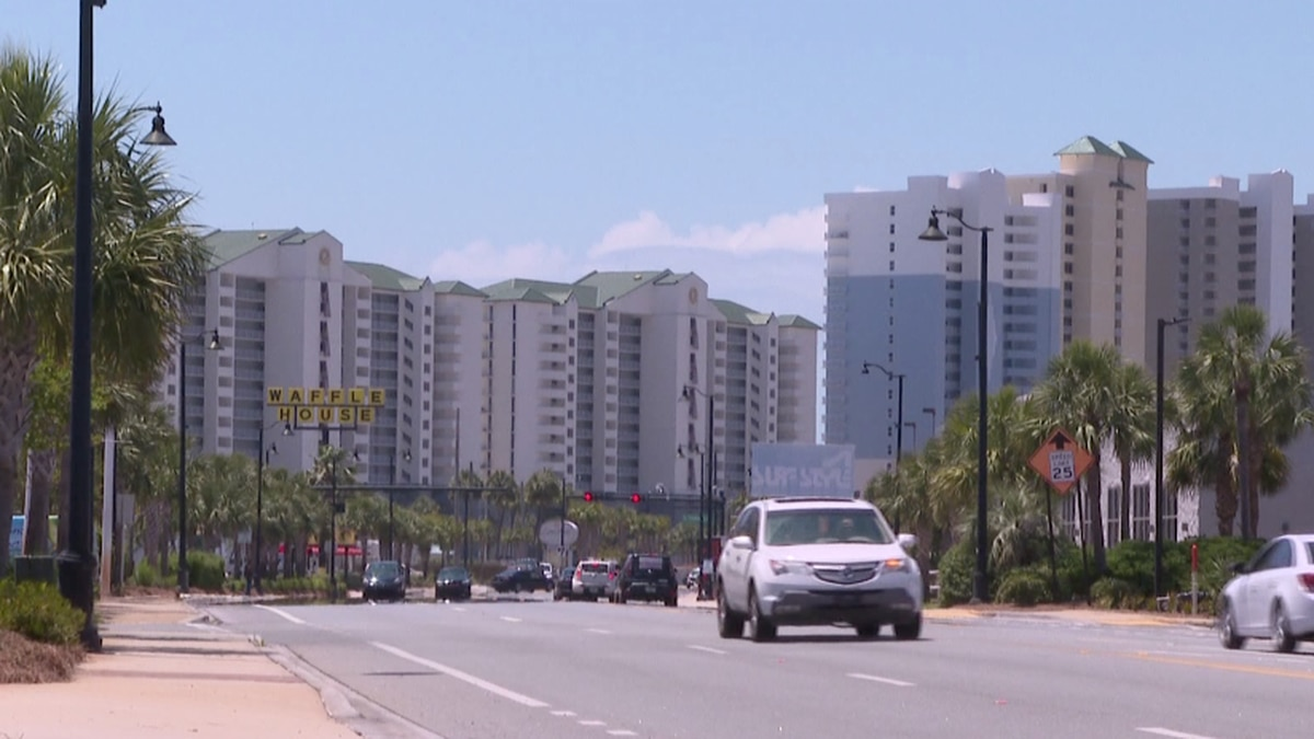 Some condos along Front Beach Road sit idle while hotels and motels are able to make...