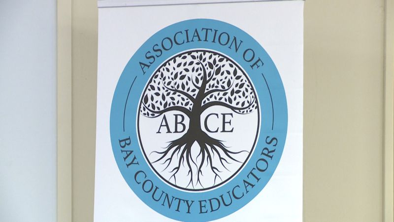 The Association of Bay County Educators met with its representatives for the first time Tuesday.