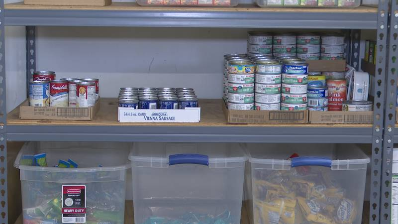 The Backpack for Kids program in Jackson County provides food to anyone signed up for their...