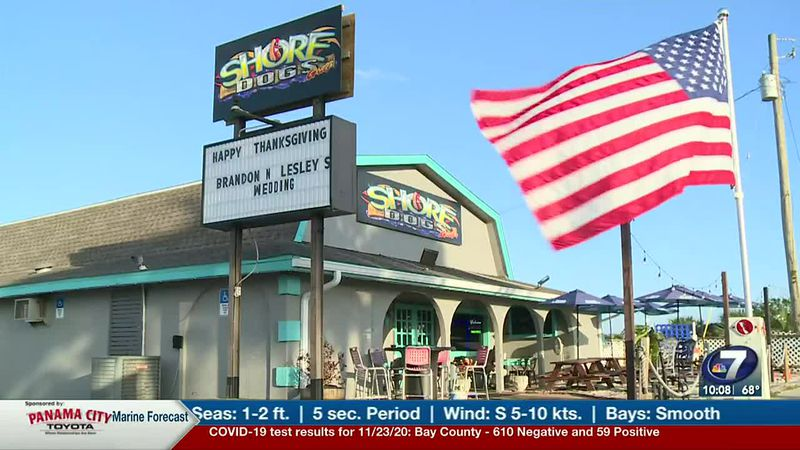 Shore Dogs Grill held its 5th annual free Thanksgiving Day dinner for those looking for a great...