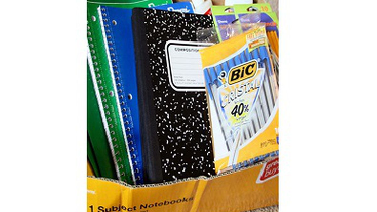 Newschannel 7 and Local 18's school supply drive ended August 1st. Thank you to all who donated. Thousands of supplies were collected for local students. (WJHG/WECP)